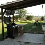 Alloggi Ferrara - Alloggio-agriturismo Torre Del Fondo - Barbecue